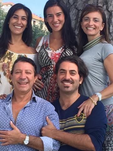Miguel Angel Zotto,  Daiana Guspero e Angela Borrelli Alessandro Parascandolo