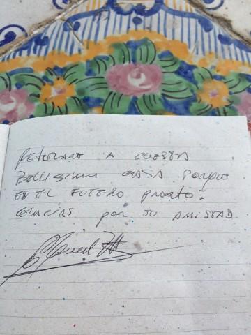libro ospiti Miguel Angel Zotto e Daiana Guspero